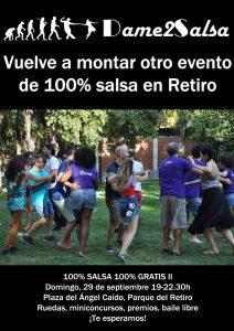 100% Salsa 100% Gratis Vuelta al cole - Dame2Salsa