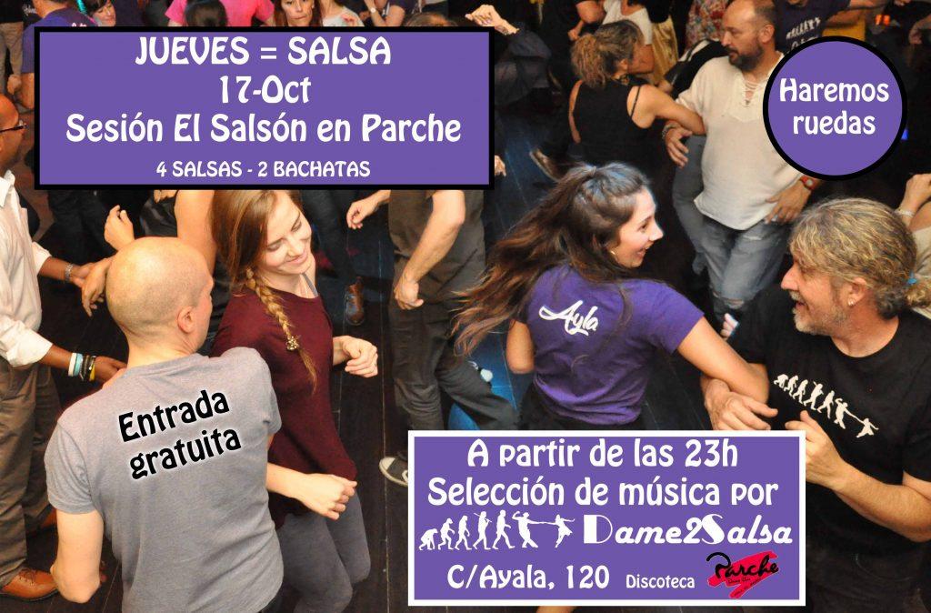 """Sesión """"El Salsón"""" en Discoteca Parche"""